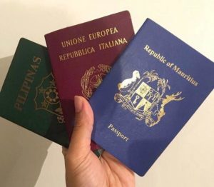 REGISTERED PASSPORTS
