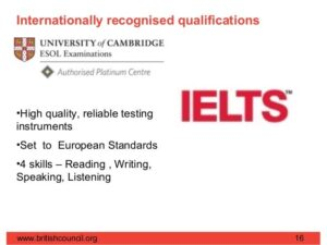 IELTS AND TOEFL CERTIFICATES