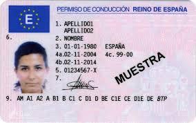 Buy Spanish driver's license